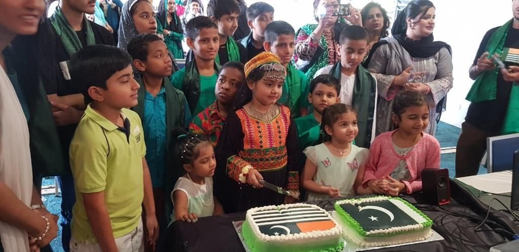 Pakistanis in Fiji celebrated Independence Day