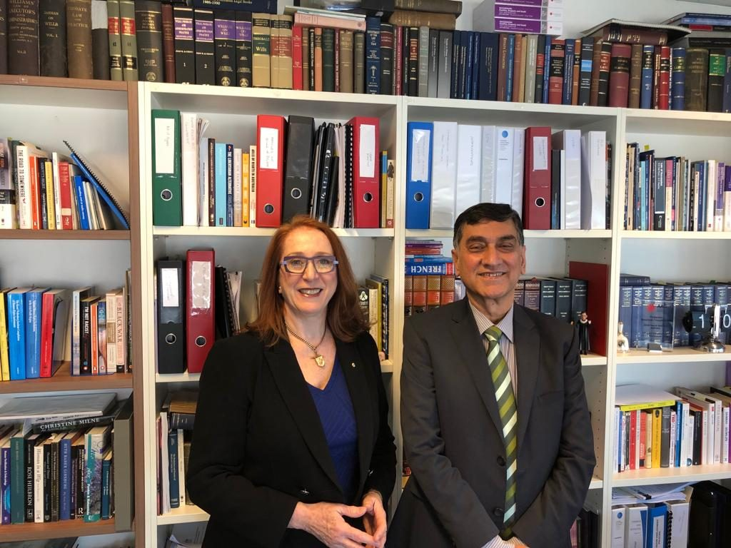 High Commissioner's meeting with President of the Australian Human Rights Commission