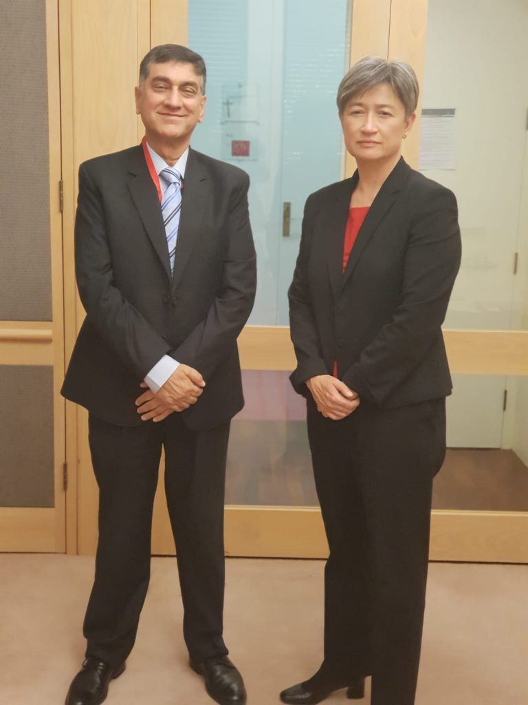 High Commissioner's meeting with Australian Shadow Foreign Minister