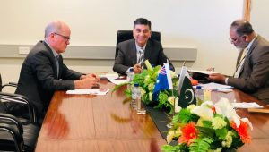 General Manager, Australia Centre for International Agricultural Research called on High Commissioner