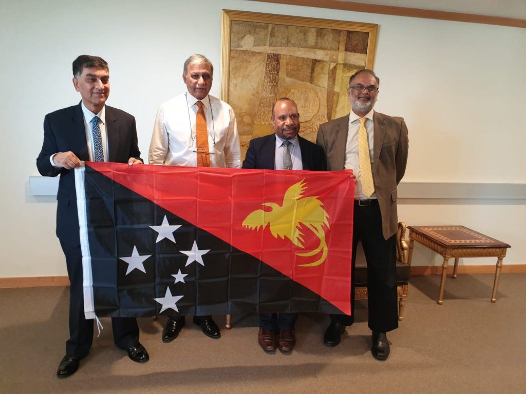 High Commissioner's meeting with Chief Executive Officer, Port Moresby General Hospital, Papua New Guinea (PNG)